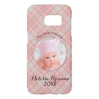 My Little Princess • Baby Girl • Pink Plaid