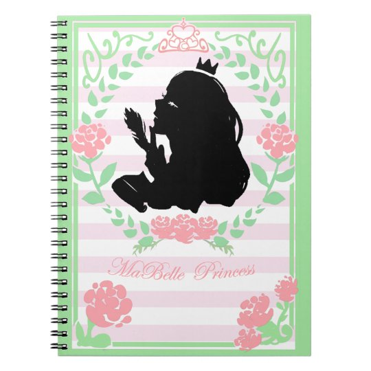 my little Princess notebook white/pink