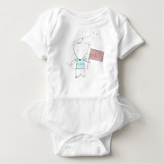 my little usa. baby bodysuit