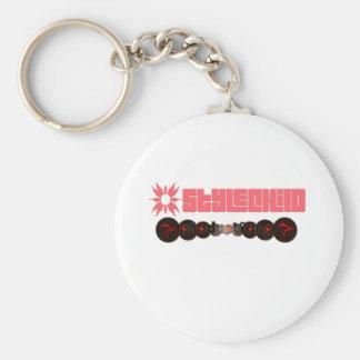 My Logo Basic Round Button Key Ring