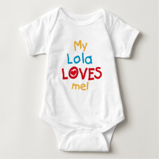 My Lola Loves Me T-shirts and Gifts