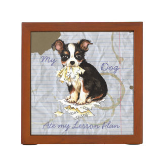 My Long Coat Chihuahua Ate my Lesson Plan Desk Organiser
