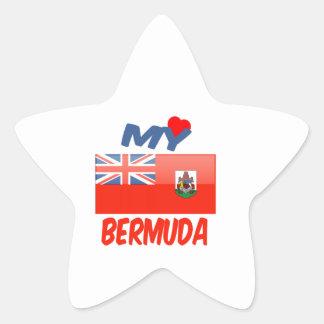 My Love Bermuda Star Sticker