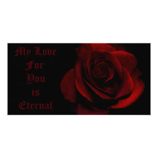 My Love For You Is Eternal Photo Greeting Card