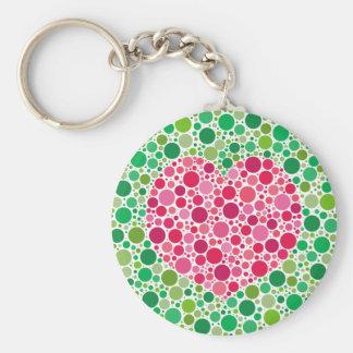 My Love is Colour Blind Borderless Keychain