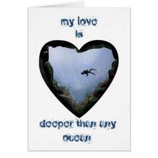 my love is deeper card