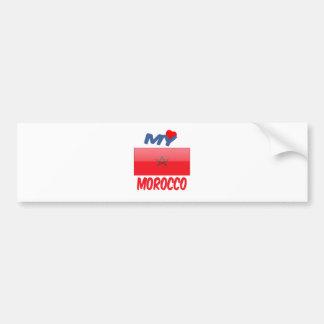 My Love Morocco Bumper Sticker
