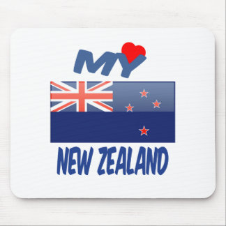 My Love New Zealand Mouse Pad