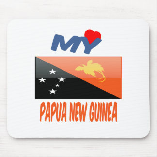 My Love Papua New Guinea Mouse Pad