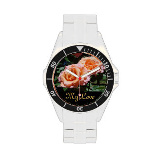 My Love Rose Flower Watches Fashion