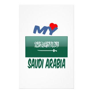 My Love Saudi Arabia. Customized Stationery