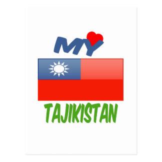 My Love Tajikistan. Postcard