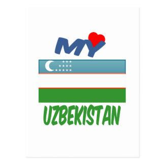 My Love Uzbekistan. Postcard