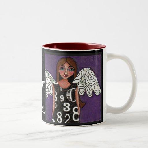 MY LUCKY ANGEL - blessed angel mug