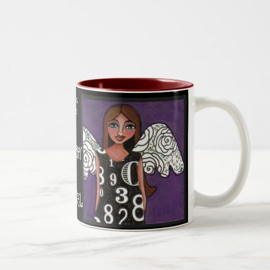 MY LUCKY ANGEL - blessed angel mug