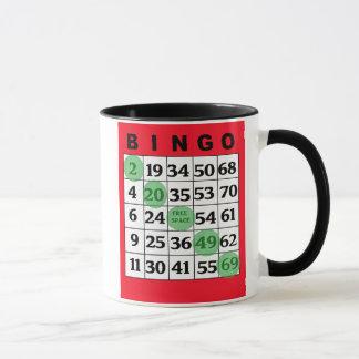 My Lucky BINGO Coffee Mug