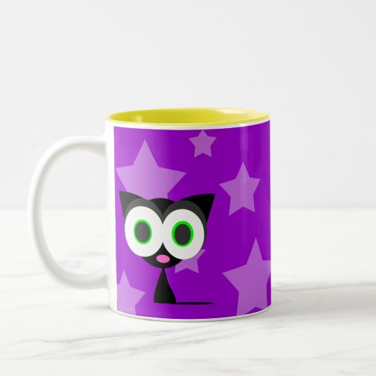 My Lucky Black Cat Coffee Mug
