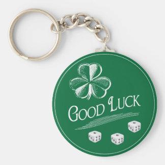 My Lucky Bunco Charm Key Ring