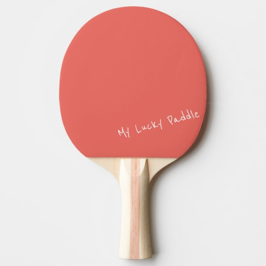 My Lucky Peach / Coral Colour Ping Pong