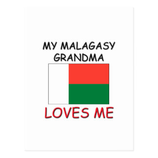My Malagasy Grandma Loves Me Post Card