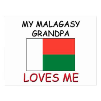 My Malagasy Grandpa Loves Me Postcards