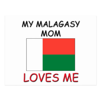 My Malagasy Mom Loves Me Post Card