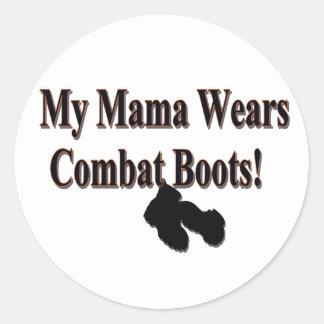 My Mama Wears Combat Boots Sticker