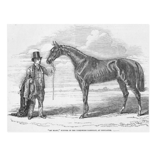 My Mary', winner of the Yorkshire Handicap Postcard