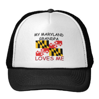 My Maryland Grandpa Loves Me Hats