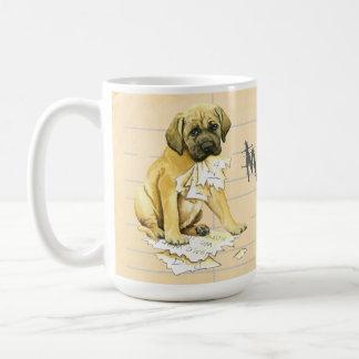 My Mastiff Ate My Homework Coffee Mug