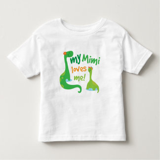 My Mimi Loves Me Dinosaur Tshirt