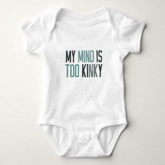 My mind is too kinky baby bodysuit