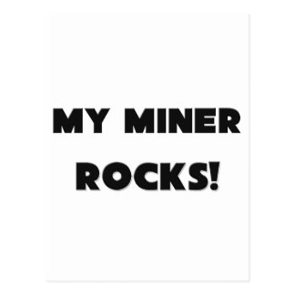 MY Miner ROCKS! Postcard