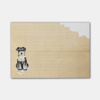 My Miniature Schnauzer Ate my Homework Post-it® Notes
