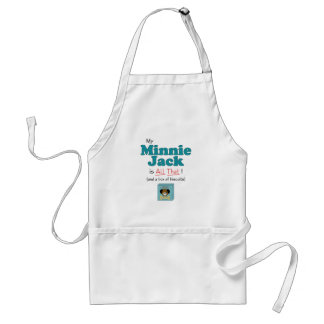 My Minnie Jack is All That! Adult Apron
