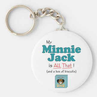 My Minnie Jack is All That! Keychain