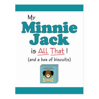 My Minnie Jack is All That! Postcard