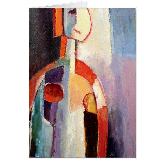 My Modern Abstract Art Card