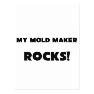 MY Mold Maker ROCKS Post Card