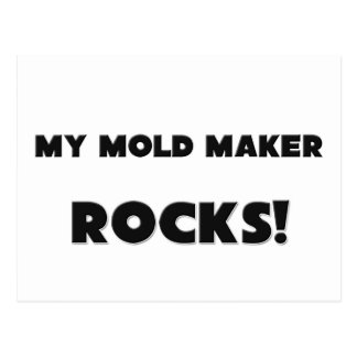 MY Mold Maker ROCKS! Postcard