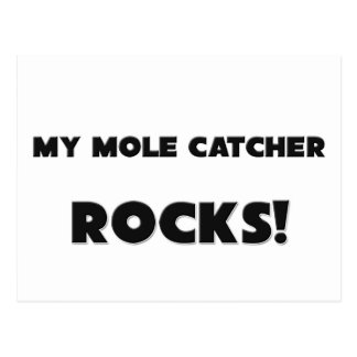 MY Mole Catcher ROCKS! Postcard