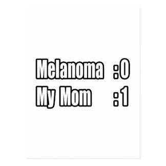 My Mom Beat Melanoma (Scoreboard) Postcard
