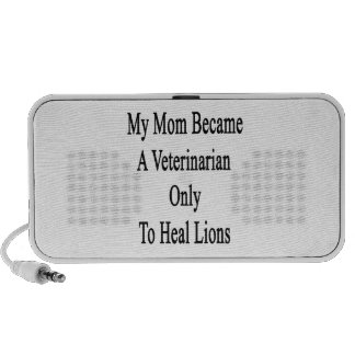 My Mom Became A Veterinarian Only To Heal Lions Travelling Speaker