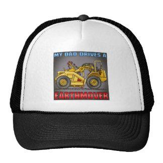 My Mom Drives A Earthmover Scraper Hat