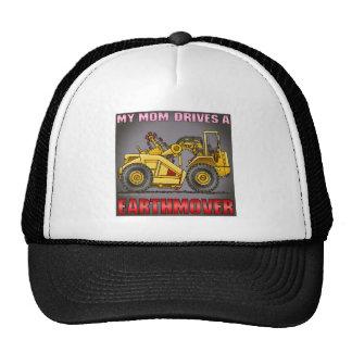 My Mom Drives An Earthmover Scraper Hat