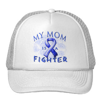 My Mom Is A Fighter Blue Cap