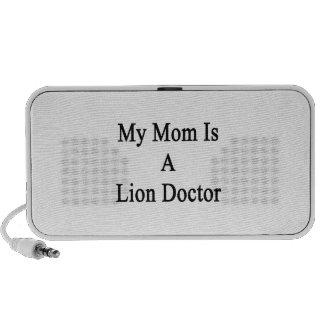 My Mom Is A Lion Doctor Notebook Speaker