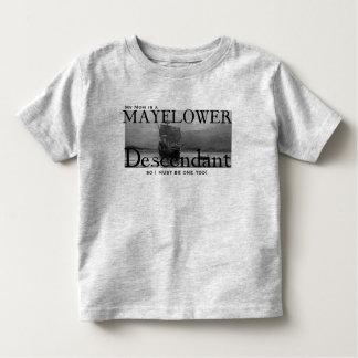 My Mom is a Mayflower Descendant Toddler T-Shirt