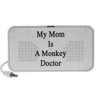 My Mom Is A Monkey Doctor Portable Speaker