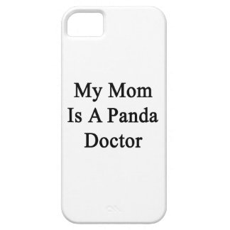 My Mom Is A Panda Doctor iPhone 5 Covers